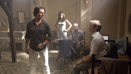 Tom Cruise and Jeremy Renner in Mission Impossible: Ghost Protocol