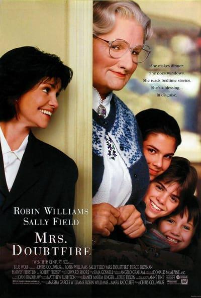 Mrs. Doubtfire Poster