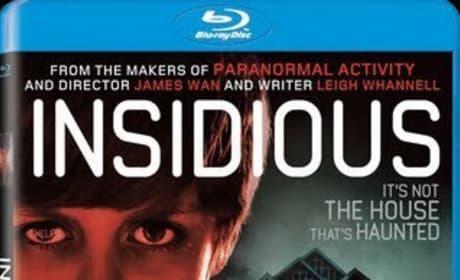 Insidious Blu-Ray/DVD Cover