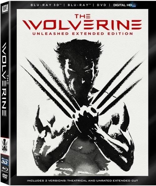The Wolverine DVD/Blu-Ray
