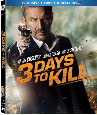 3 Days to Kill DVD
