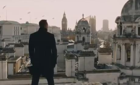 First Skyfall Trailer: James Bond is Back