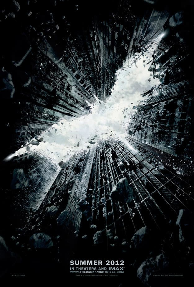 Official Dark Night Rises Teaser Poster