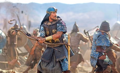 Exodus Gods and Kings Photos: Christian Bale Fights, Sigourney Weaver Stares