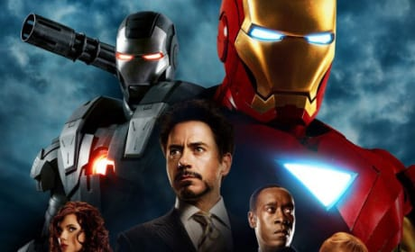 International Poster for Iron Man 2!