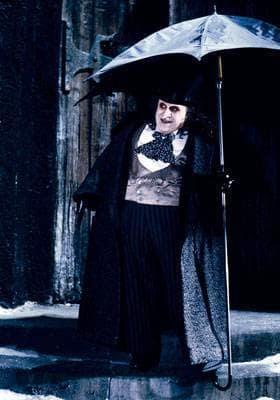The Penguin and his umbrella