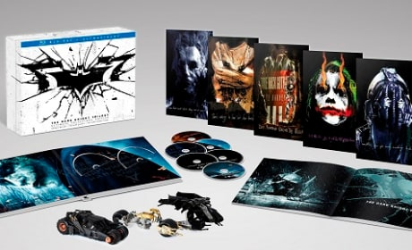 The Dark Knight Trilogy Collector's Edition Blu-Ray