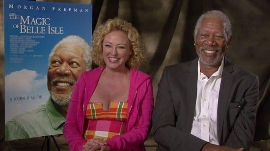 Morgan Freeman and Virginia Madsen Picture