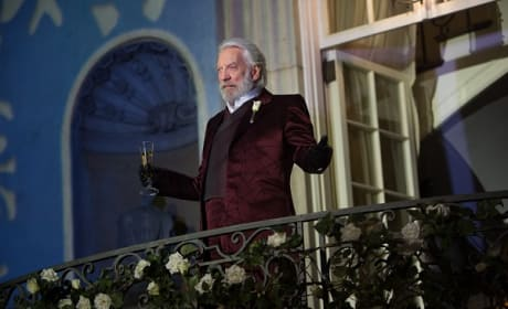 Catching Fire Stars Donald Sutherland