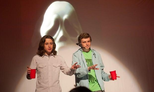 Erik Knudsen and Rory Culkin in Scream 4