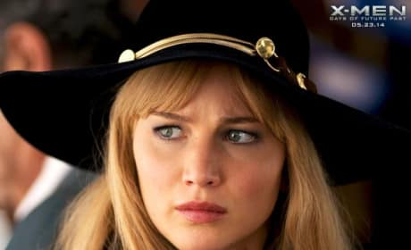 X-Men Days of Future Past Jennifer Lawrence Stars