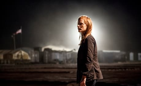Zero Dark Thirty Stars Jessica Chastain