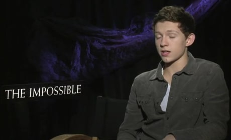 The Impossible Exclusive: Tom Holland Comes of Age