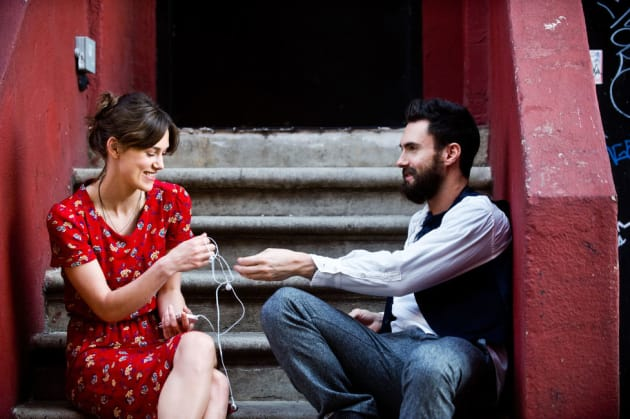 Begin Again Keira Knightley Adam Levine