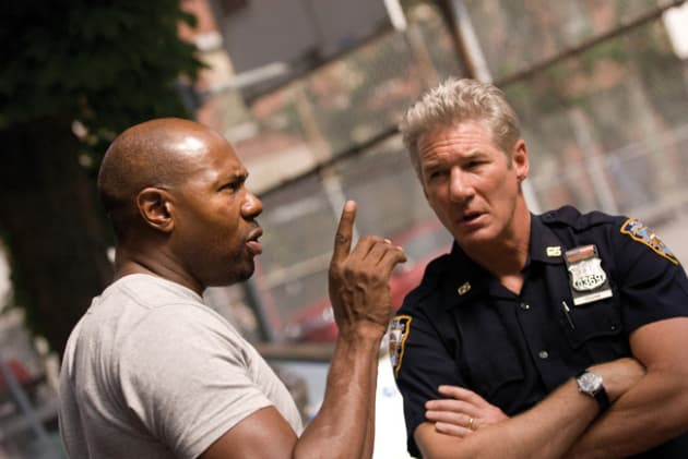 Antoine Fuqua Talking to Richard Gere