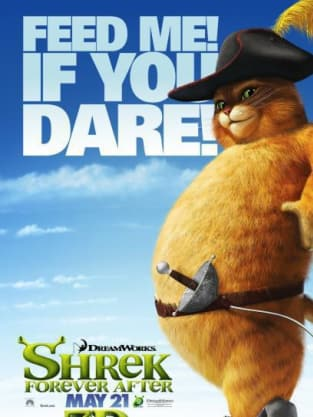 Shrek Forever After Feed Me If You Dare Poster