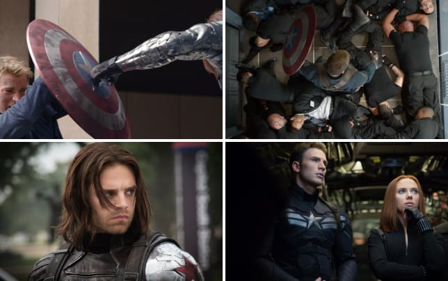 Captain america the winter soldier chris evans sebastian stan
