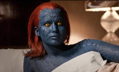"X-Men Days of Future Past: Jennifer Lawrence Says Mystique is ""Mutant and Proud"""