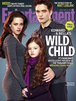 Bella, Edward and Renesmee
