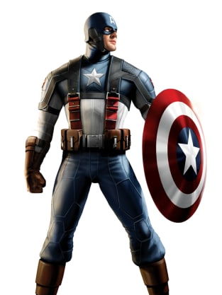 Captain America Costume Art 3