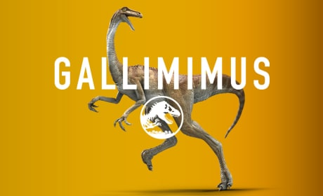 Jurassic World Gallimimus