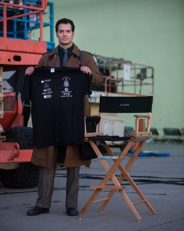 Batman v. Superman Dawn of Justice Henry Cavill