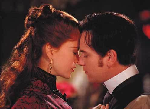 Nicole Kidman and Ewan McGregor in Moulin Rouge