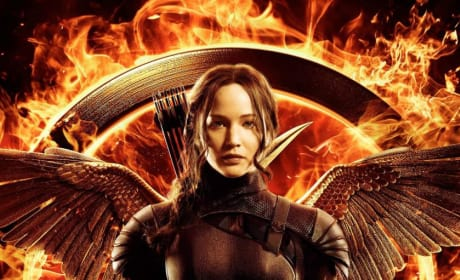 Mockingjay Part 1 Jennifer Lawrence Poster