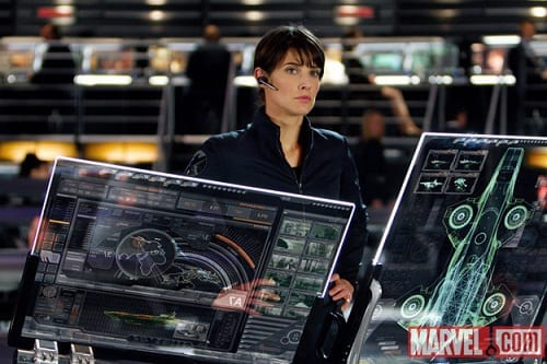 Cobie Smulders Stars in The Avengers