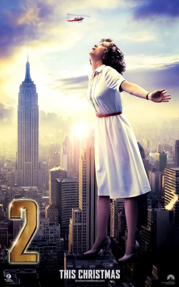 Anchorman 2 Kristen Wiig Poster