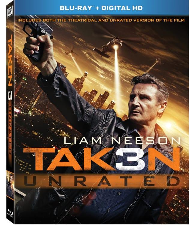 Taken 3 DVD