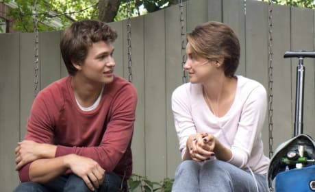 Ansel Elgort The Fault in Our Stars Shailene Woodley