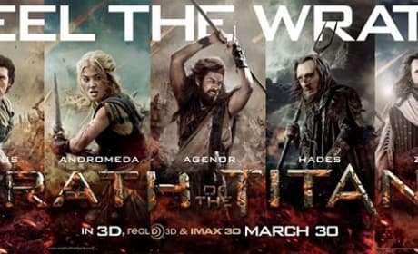 The Cast of Wrath of the Titans Poster