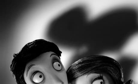 Mr. and Mrs. Frankenstein Frankenweenie iPhone Background