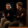 Alex Kurtzman Directs Chris Pine on People Like Us Set