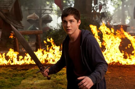 Percy Jackson Sea of Monsters Logan Lerman