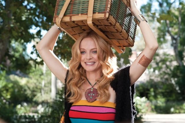 Heather Graham as Aunt Opal in Judy Moody