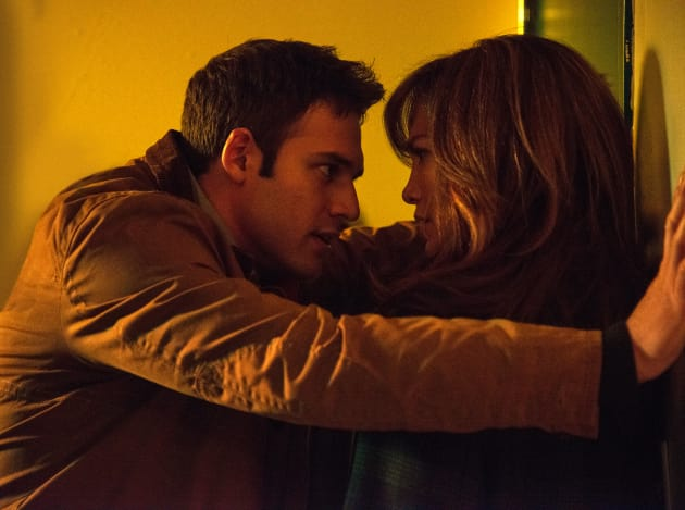 Ryan Guzman and J Lo in The Boy Next Door
