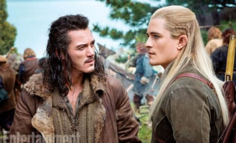 The Hobbit: There and Back Again Still Features Orlando Bloom and Luke Evans