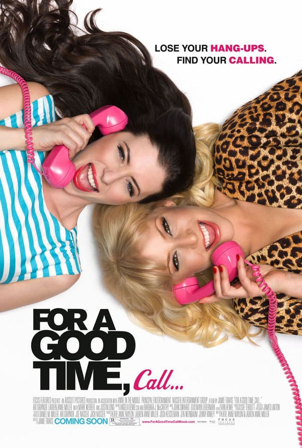For a Good Time Call Poster 2