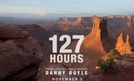 127 Hours Teaser Poster