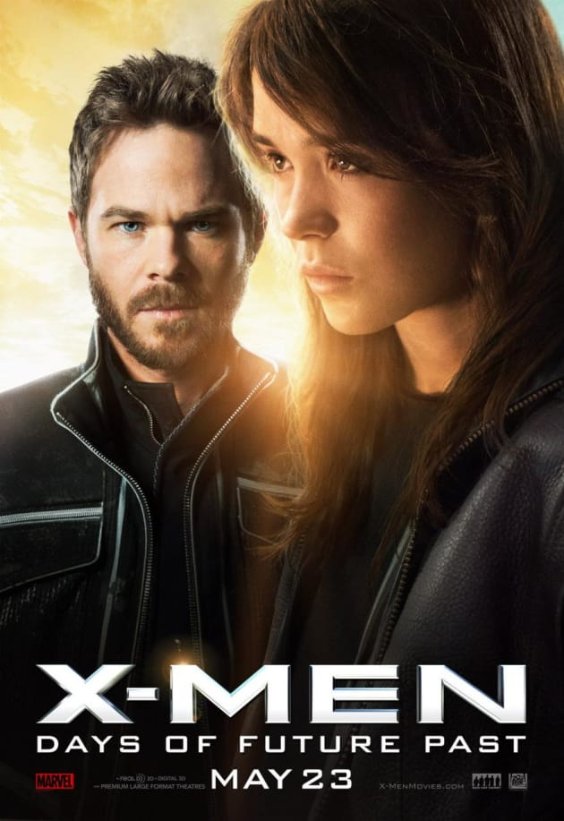 X-Men Days of Future Past Ellen Page Character Poster