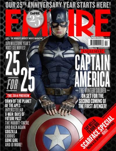 Captain America Empire Magazine
