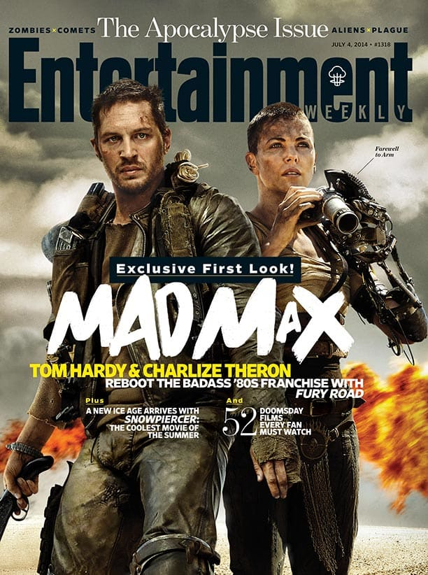 Mad Max Fury Road EW Cover