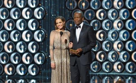 Angelina Jolie Sidney Poitier Oscars