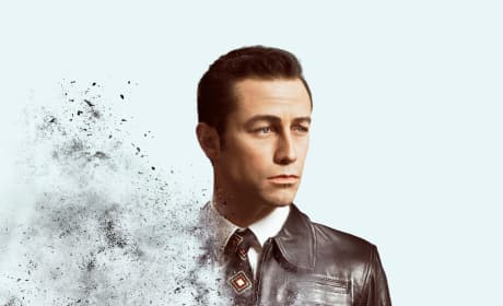 Looper Character Posters Show Two Versions of the Same Man