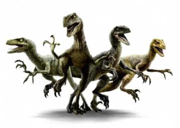 Jurassic World Raptors