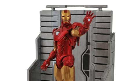 The Avengers Action Figures: Iron Man Goes Plastic