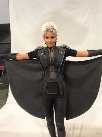 Halle Berry as Storm X-Men: Days of Future Past