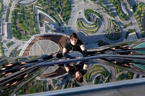 Mission Impossible: Ghost Protocol Still: Tom Cruise in Action